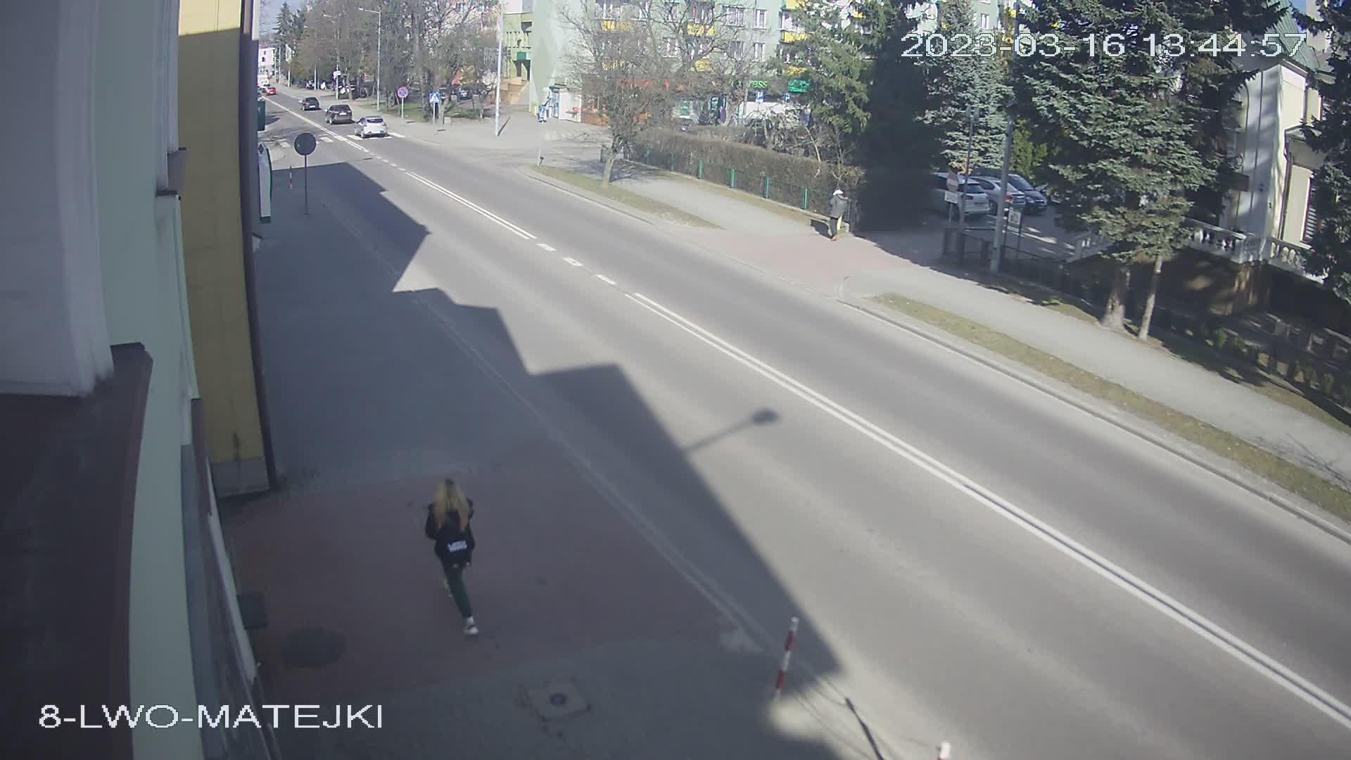 Kamera Smocza Jama, ulica Lwowska 64 - kierunek Rynek w Tomaszowie Lubelskim