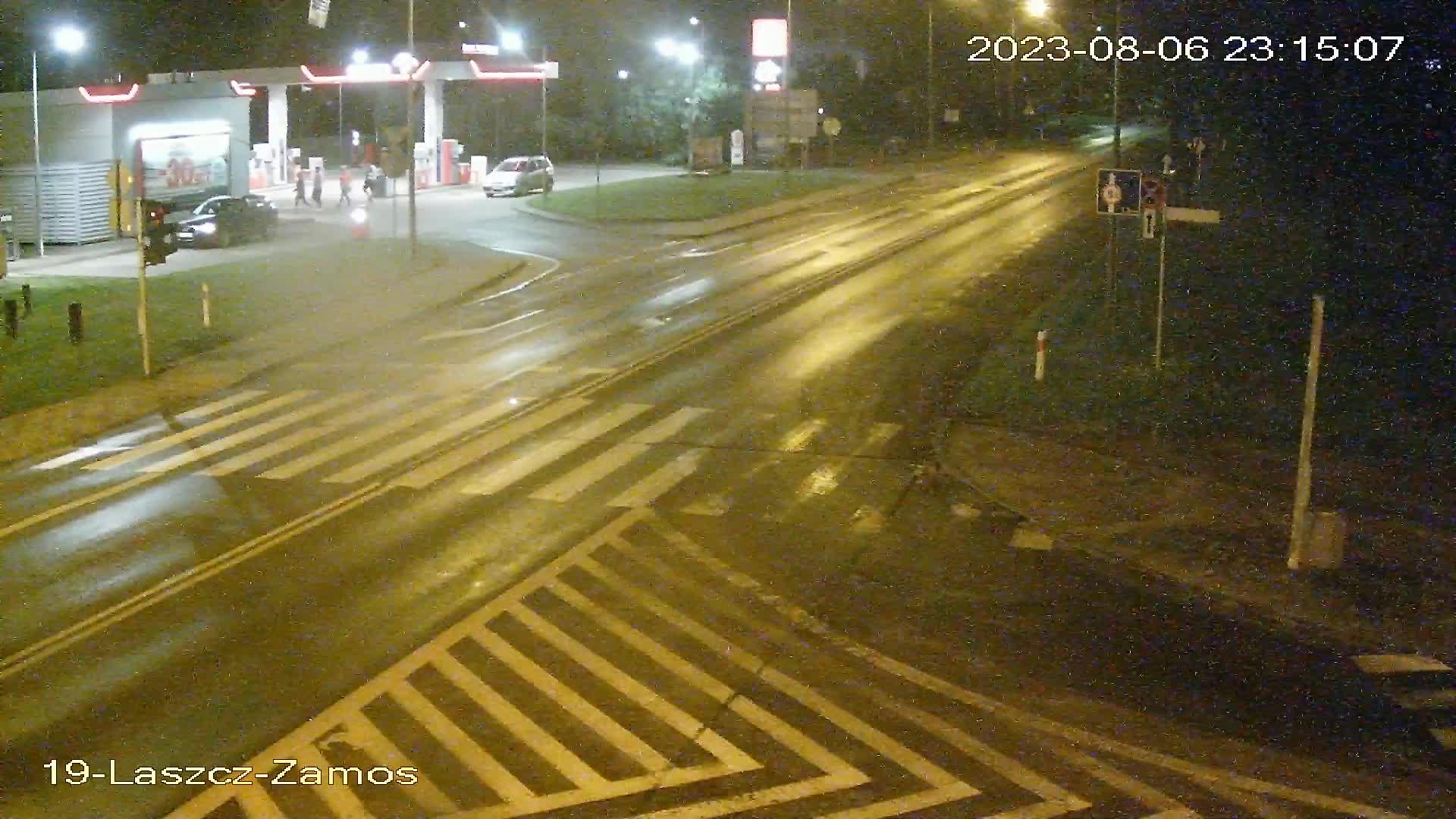 Skrzyżowanie ulic: Generała Sikorskiego - Zamojska - Łaszczowiecka